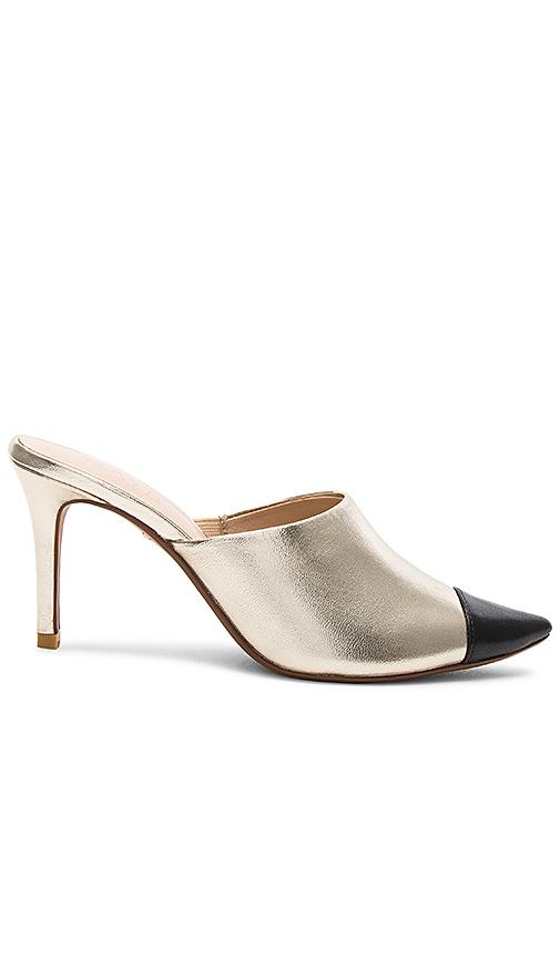RAYE Phoebe Heel in Metallic Gold