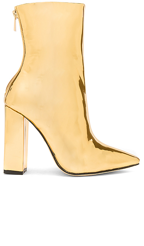 RAYE x REVOLVE Riley Bootie in Metallic Gold