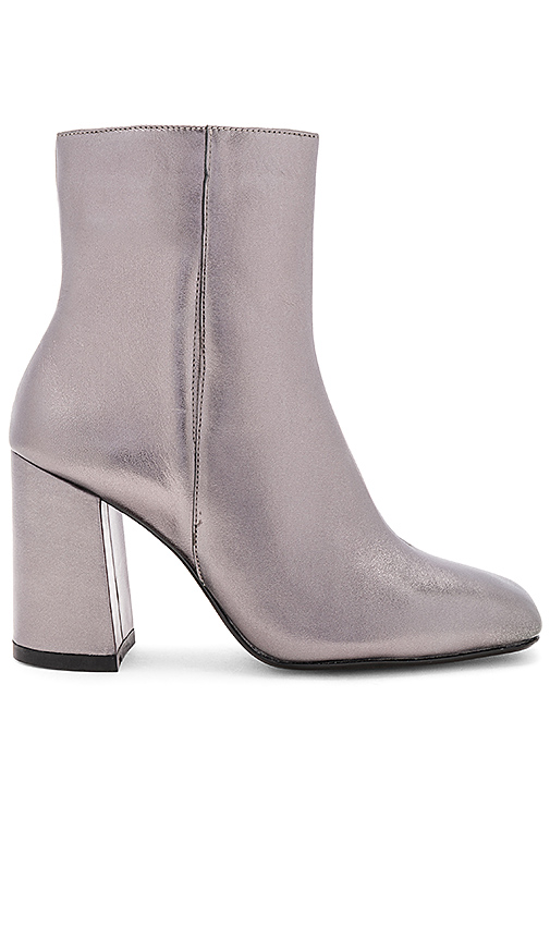 RAYE Holland Bootie in Metallic Silver