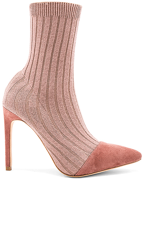 RAYE Collins Sock Bootie in Mauve