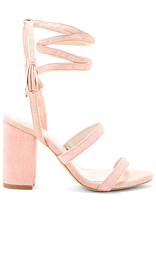 RAYE x STONE COLD FOX Henna Calf Hair Sandal in Pink
