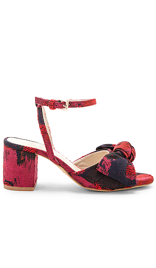 RAYE x STONE COLD FOX Carmine Mule in Red