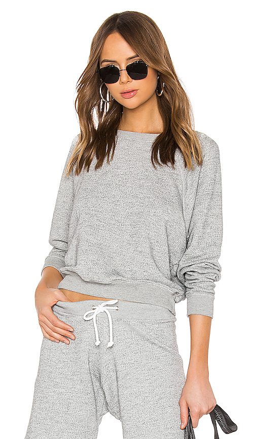 Re/done Tops RE/DONE 50S CREW NECK IN GRAY.
