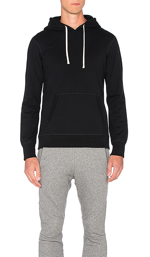 Reigning Champ Core Pullover Hoodie in Black. - size S (also in XL, XXL)