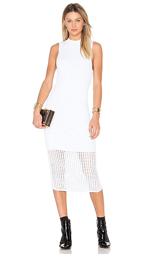 Rag & Bone Ingrid Sweater Dress in White