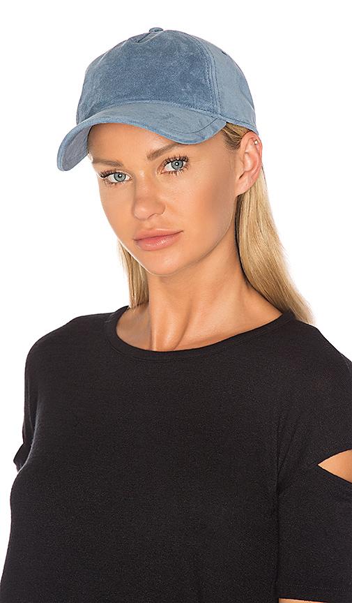 Rag & Bone Marilyn Baseball Cap in Blue
