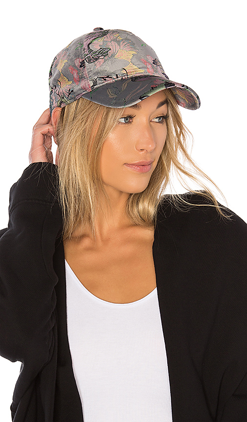 Rag & Bone Marilyn Baseball Cap in Gray