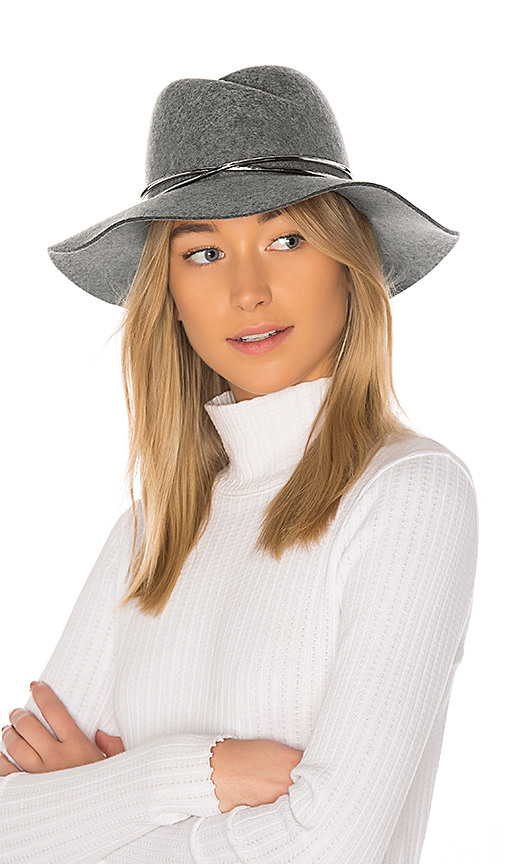 Rag & Bone Zoe Fedora in Gray