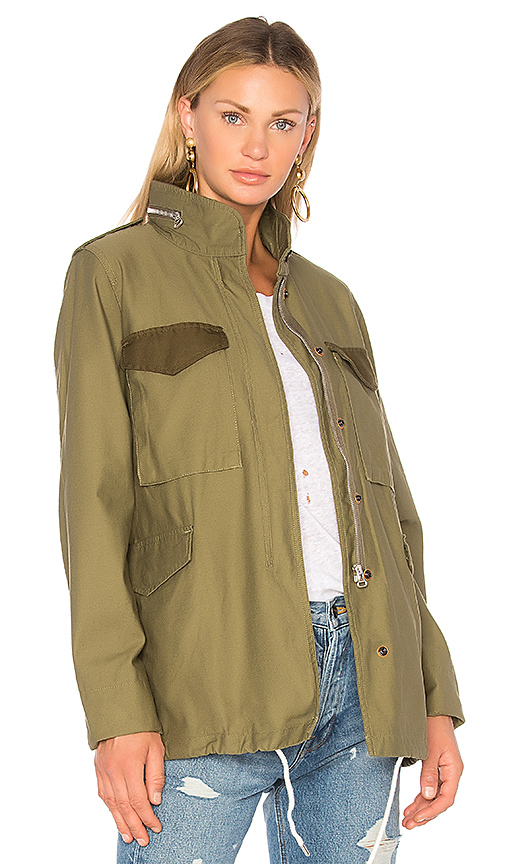 Rag & Bone Ash Field Jacket in Green