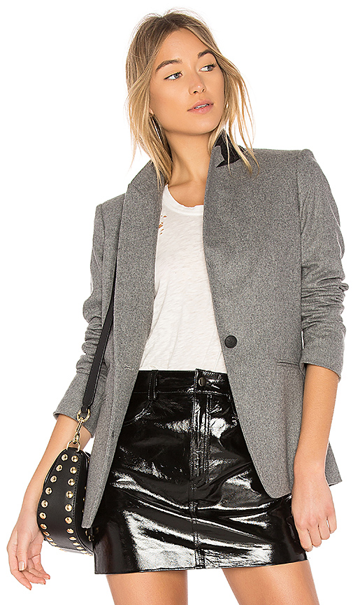 Rag & Bone Duke Blazer in Gray