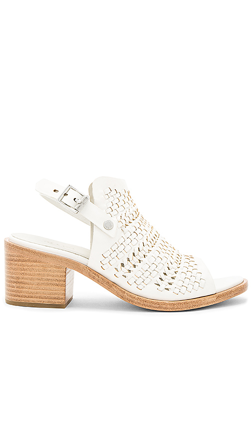 Rag & Bone Wyatt Mid Heel in White