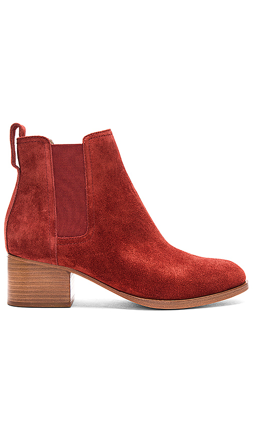 Rag & Bone Walker Boot in Rust