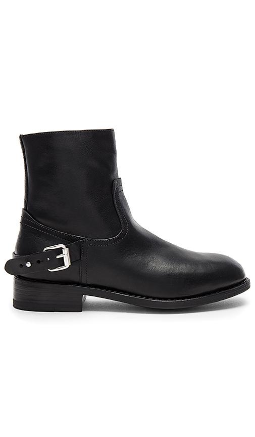 Rag & Bone Oliver Zip Boot in Black