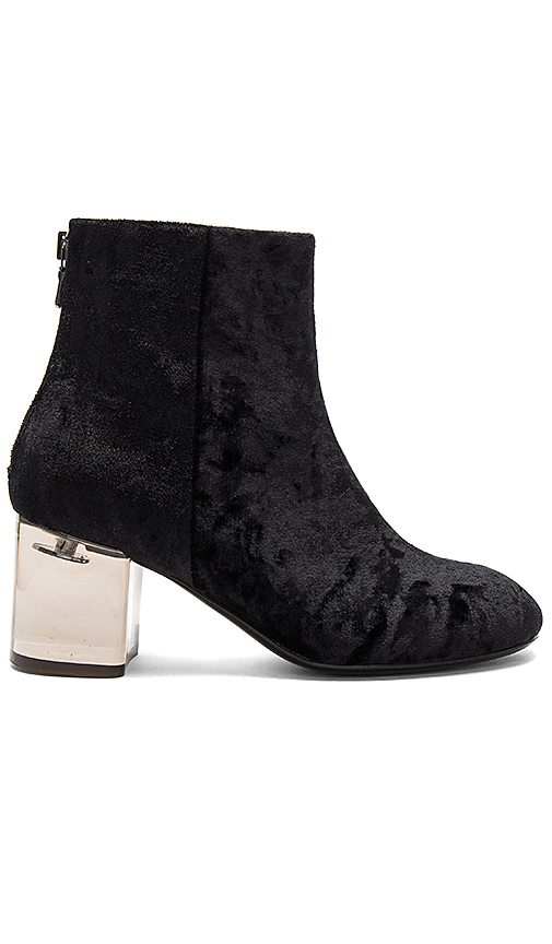 Rag & Bone Drea Velvet Bootie in Black