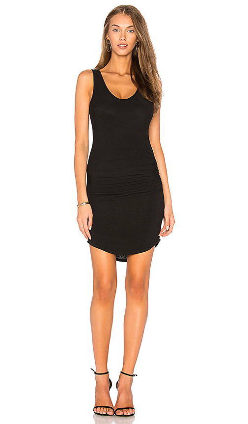 Riller & Fount Viv Tank Dress in Black