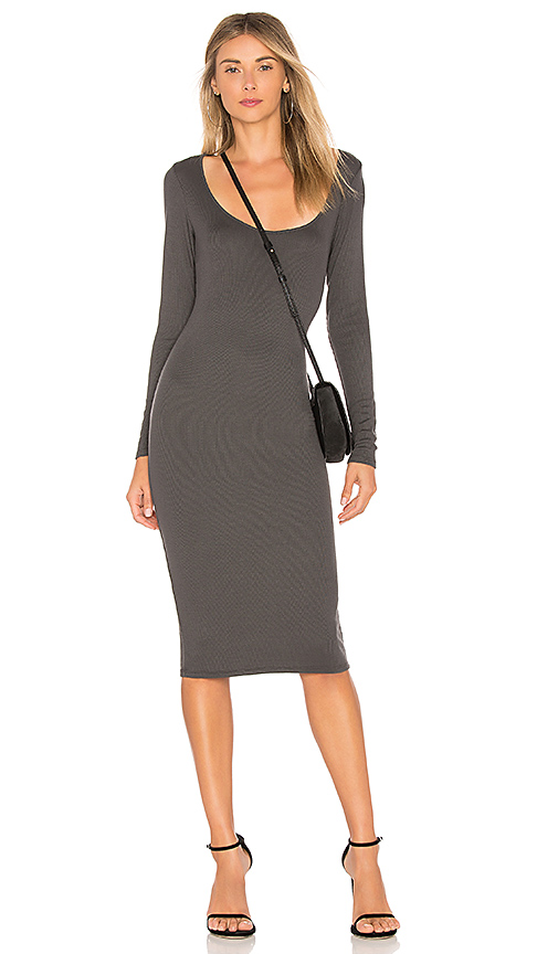 Riller & Fount Lottie Dress in Charcoal