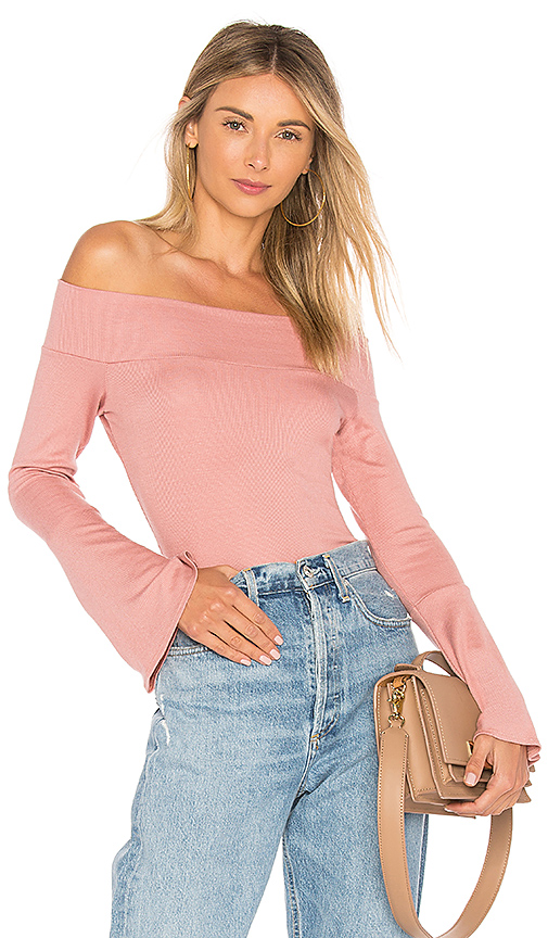 Riller & Fount Kayla Top in Pink