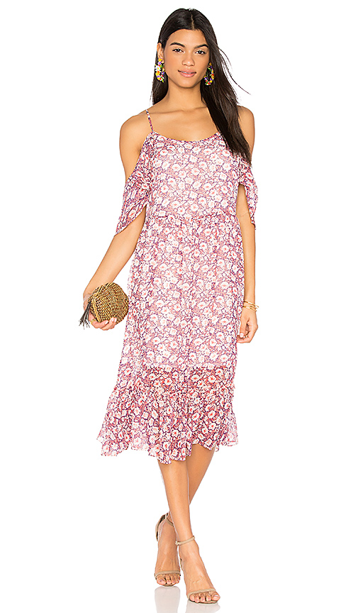Rebecca Minkoff Buffy Dress in Pink