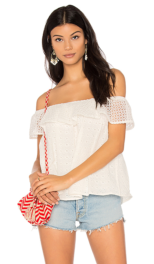 Photo of Rebecca Minkoff Celestine Top in White - shop Rebecca Minkoff tops sales