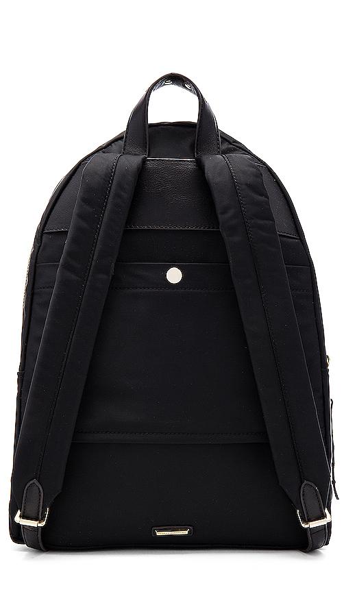 Rebecca Minkoff Always On Mab Backpack in Black.