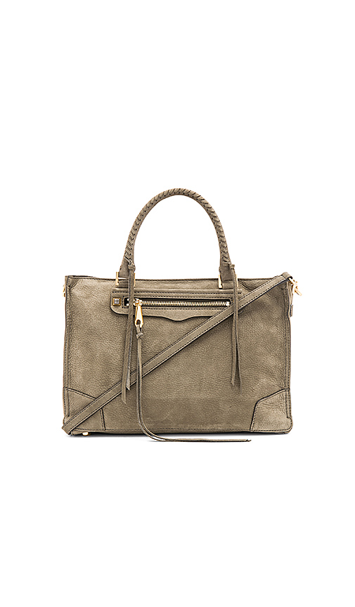 Rebecca Minkoff Regan Satchel in Olive