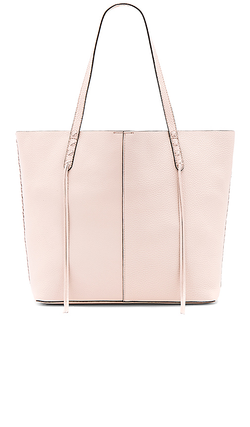 Photo of Rebecca Minkoff Medium Unlined Tote With Whipstitch in Blush - shop Rebecca Minkoff bags sales