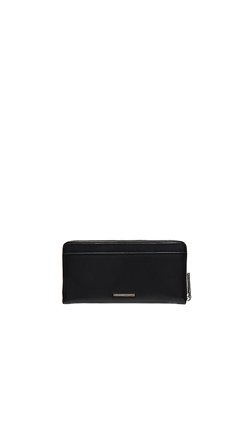 Rebecca Minkoff Continental Love Wallet in Black