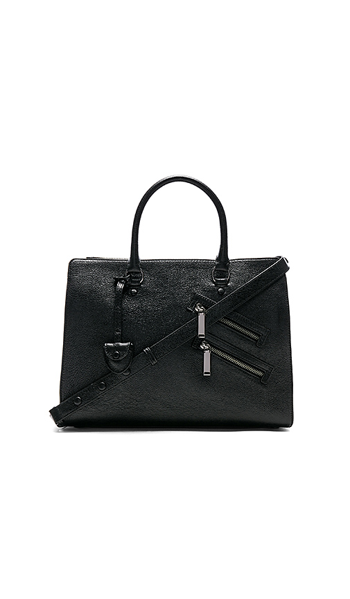 Rebecca Minkoff Large Jamie Satchel in Black