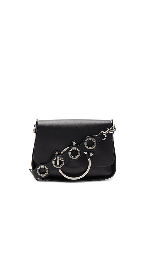 Rebecca Minkoff Ring Shoulder Bag in Black