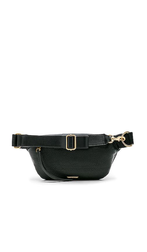 Rebecca Minkoff Bree Belt Bag in Black.