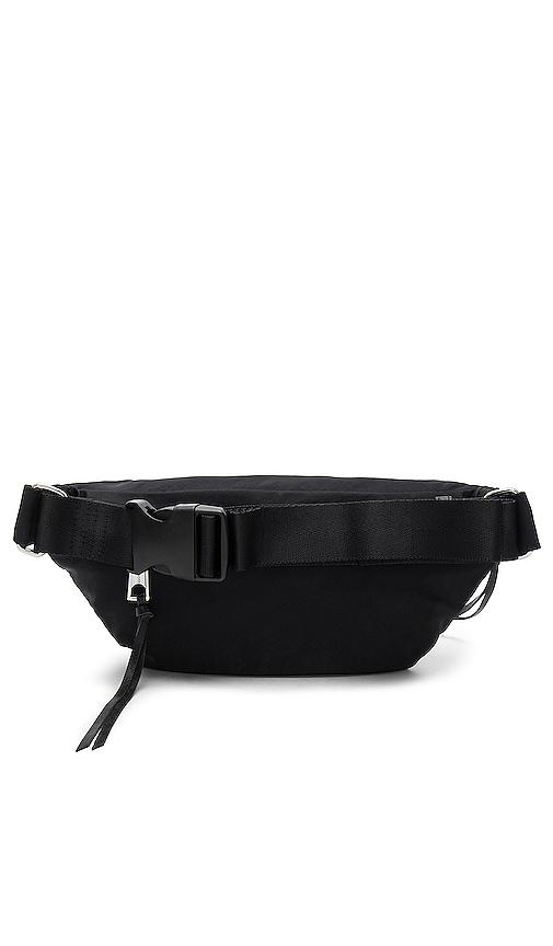 Rebecca Minkoff Nylon Belt Bag in Black.
