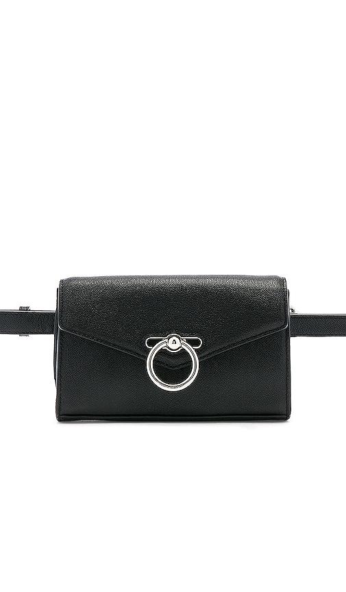 Rebecca Minkoff Jean Belt Bag in Black.