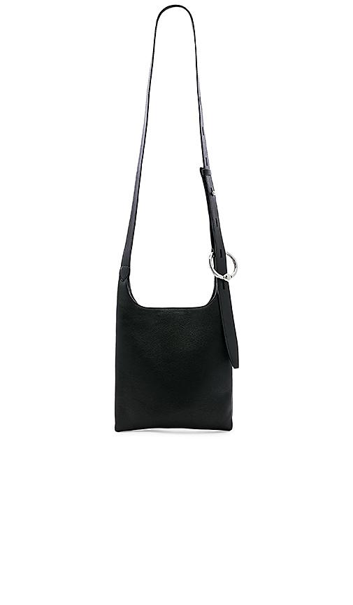 Rebecca Minkoff Karlie Small Feed Bag in Black.