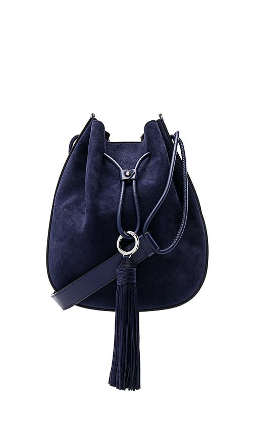 Rebecca Minkoff Lulu Shoulder Bag in Navy.
