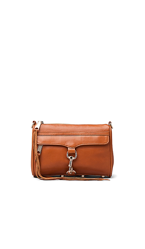 Rebecca Minkoff Mini Mac Handbag in Cognac