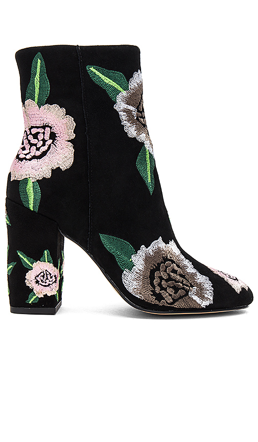 Rebecca Minkoff Bryce Embroidered Bootie in Black