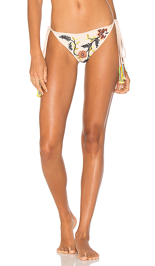 ROCOCO SAND Side Tie Bottom in Ivory