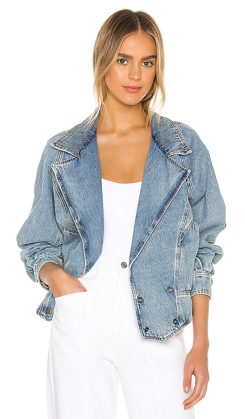 Retroféte DENIM JACKET. -