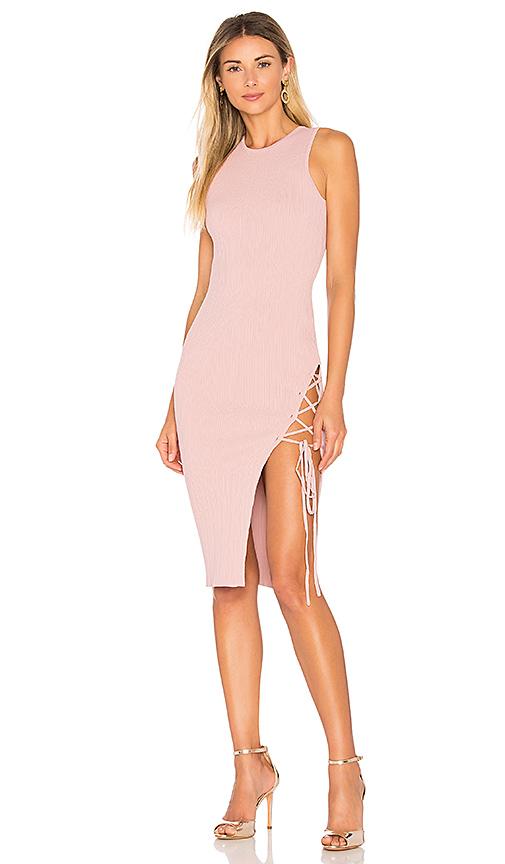 Ronny Kobo Monica Dress in Pink