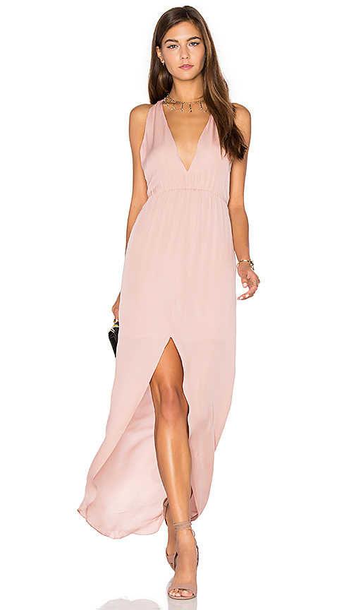 Rory Beca MAID Hampton Gown in Blush