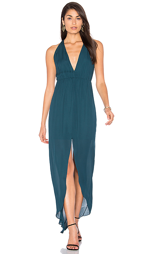 Rory Beca MAID Hampton Gown in Teal. - size M (also in S)