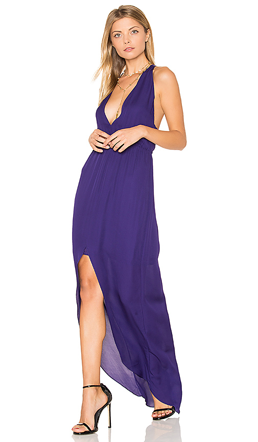 Rory Beca MAID Hampton Gown in Purple. - size S (also in XS)