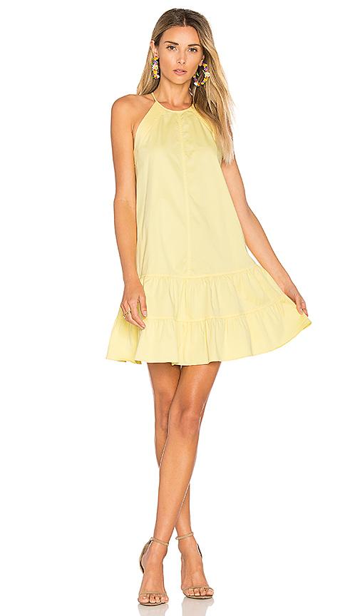 Rebecca Taylor Tank Dress in Yellow