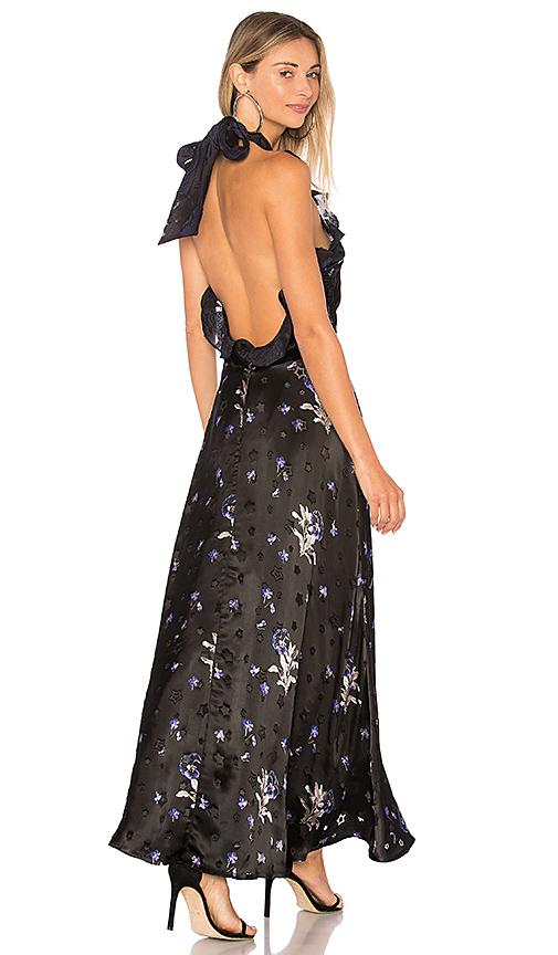 Rebecca Taylor Violet Dress in Black