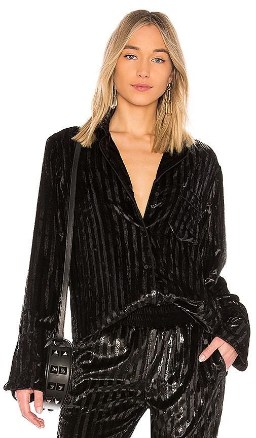 RtA Yvonne Shirt in Black