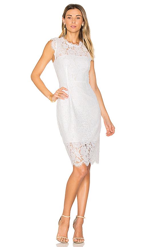 RACHEL ZOE Suzette Dress in White