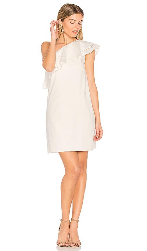 RACHEL ZOE Kendall Dress in White