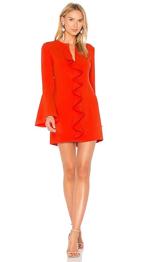RACHEL ZOE Monner Dress in Orange