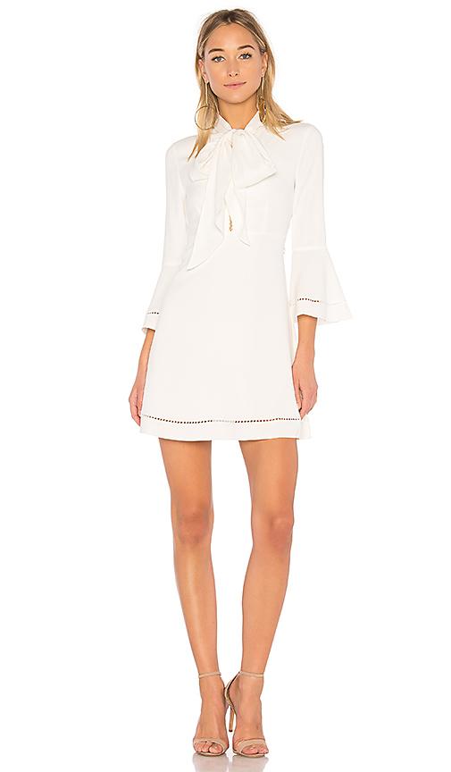 RACHEL ZOE Wynn Mini Dress in Ivory