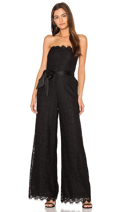 RACHEL ZOE Tinley Jumpsuit in Black. - size 0 (also in 2)